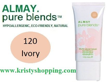 Base Hipoalergénico Pure Blends  Almay Ivory 120