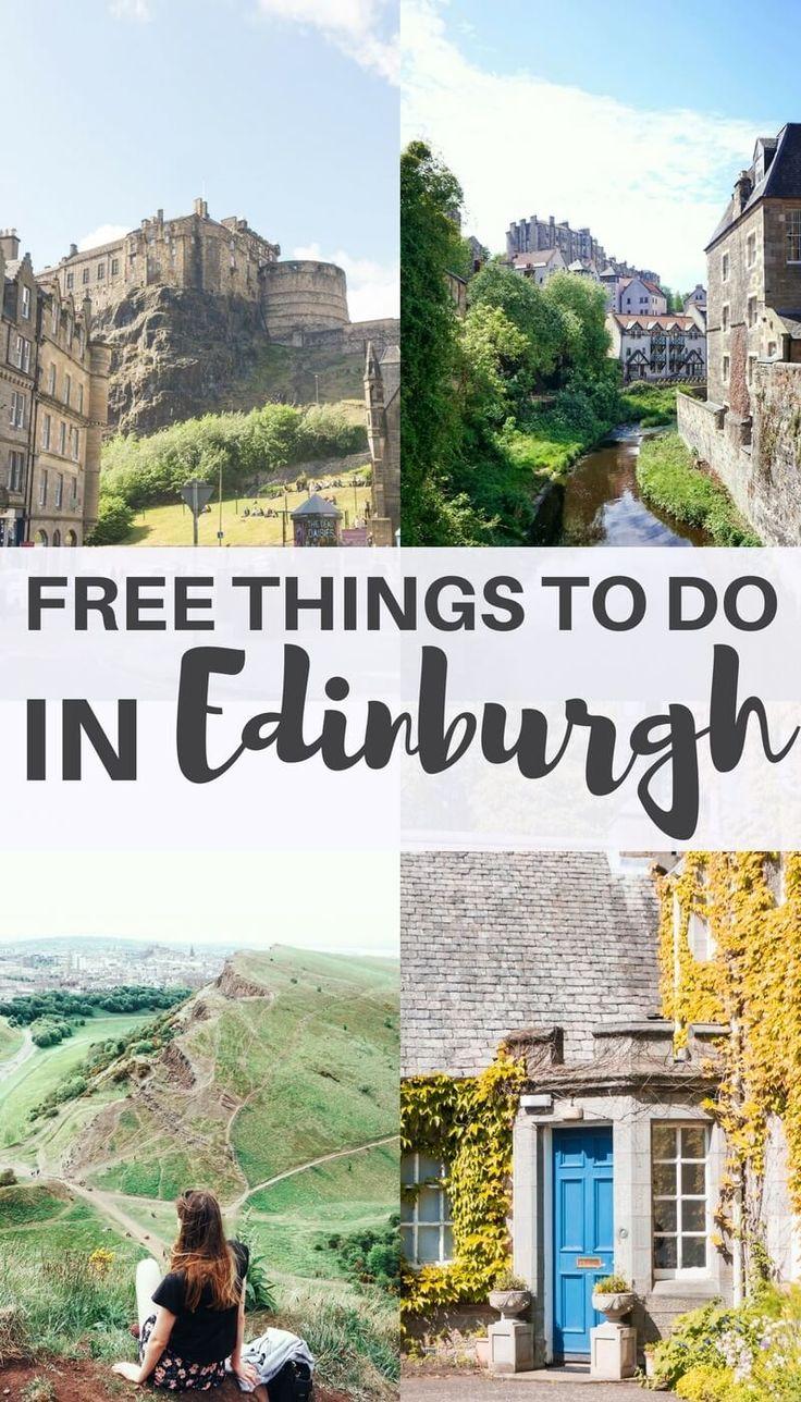 25 Amazing & Free Things to do in Edinburgh, Scotland