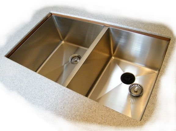 one half inch radius undermount sinks - Undermount Sinks