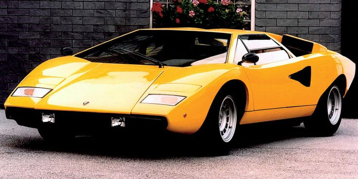 The elegant Miura was replaced by the Countach, a car that appears to have been styled with a ruler. The complaints vary from an inability to see out of it to it being a better poster than a car. The early, wingless Countach had 370 horsepower.