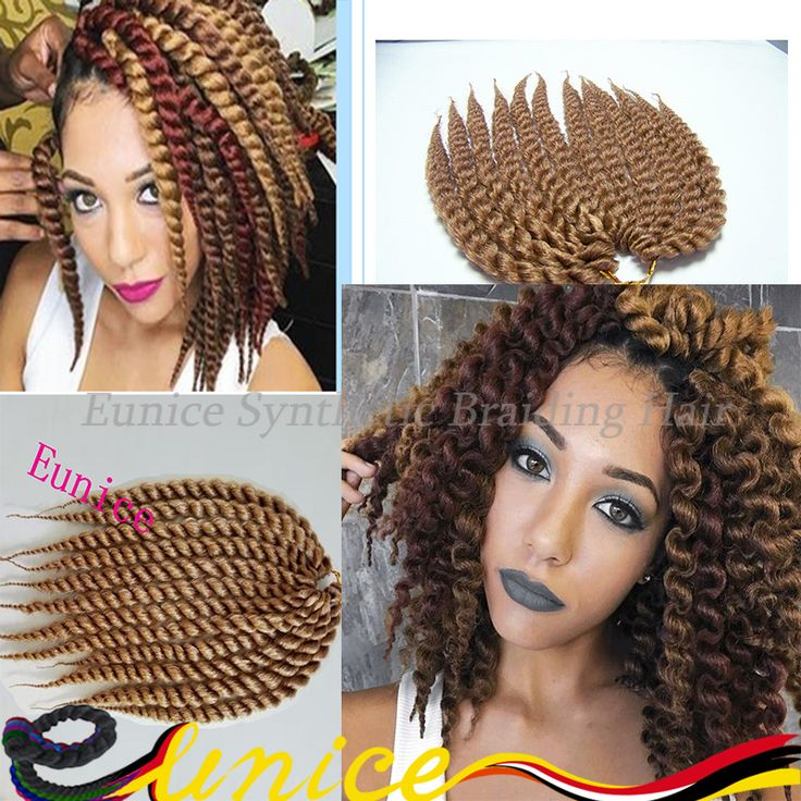 "Find More Bulk Hair Information about 12 Roots Havana Mambo Twist Hair Crochet Braids 12"" 24"" Havana Jumbo Twist Hair Crochet Braids FAUXLOCKS Havana Senegalese twist,High Quality havana jumbo twists,China havana mambo twist Suppliers, Cheap jumbo twist from Eunice synthetic braiding hair on Aliexpress.com"