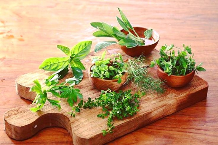 Fresh herbs can take a dish from good to great.