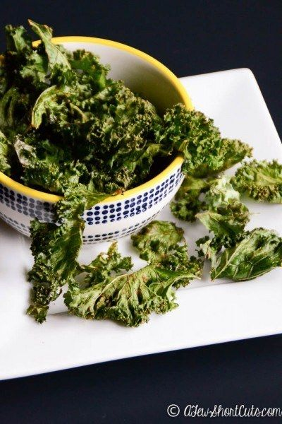 Spicy Baked Kale Chips | 18 Delicious Homemade Chips That Are Actually Healthy