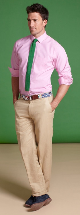 Pink & green combo | Marvellous.Male.Fashion | Pinterest | Spring ...