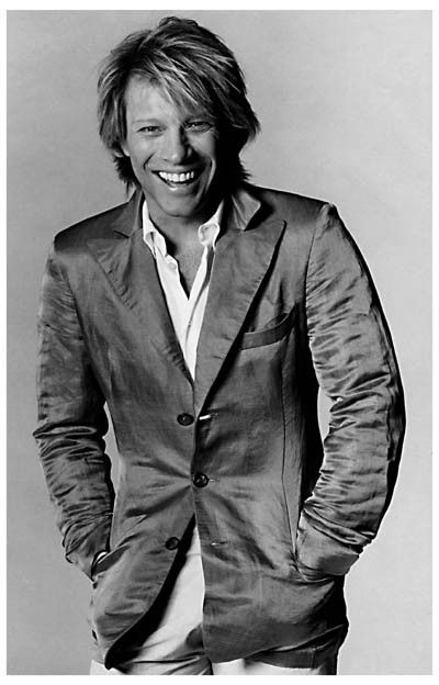 Jon Bon Jovi is one sharp-dressed man in this great black and white portrait! Ships fast. Ready for your wall. 11x17 inches.