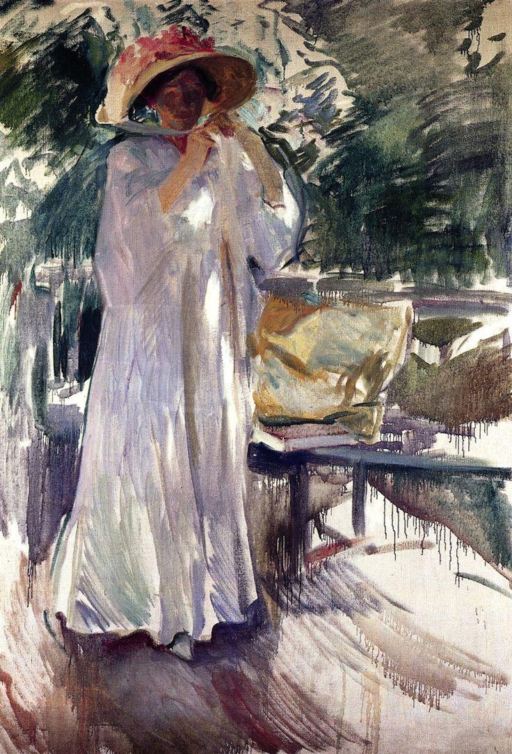 Clotilde in the Garden - Joaquin Sorolla y Bastida 1910