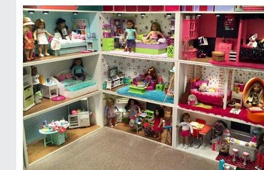 Stuva american girl dollhouse