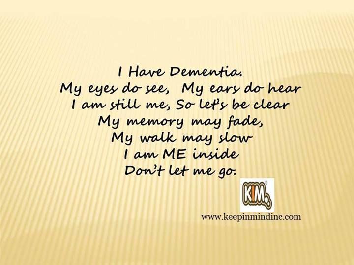 I have dementia #alzheimers #dementia #caregiver