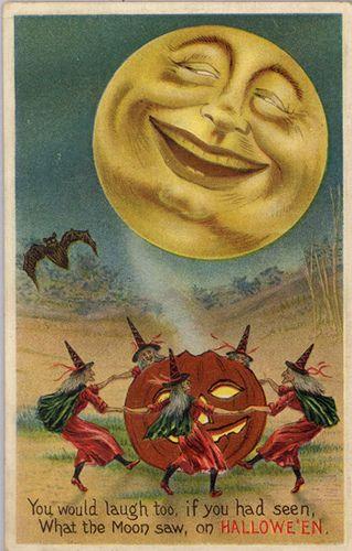 Classic Halloween Postcard by matthewkirscht, via Flickr