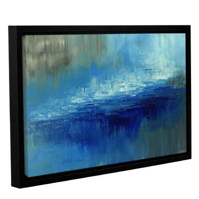 varick gallery lost paradise framed painting print on canvas size 16 h
