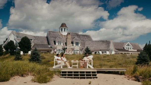 """Jumping the Broom"" movie house in Nova Scotia, Canada but supposed to be Martha's Vineyard."