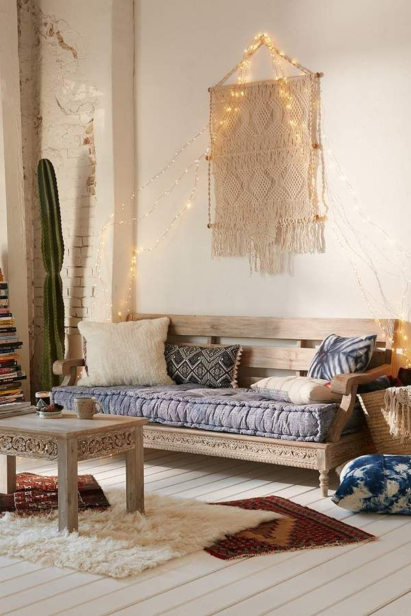 Urban Outfitters Rohini Printed Daybed Cushion #ad Boho Style