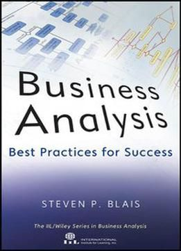Business Analysis: Best Practices For Success PDF