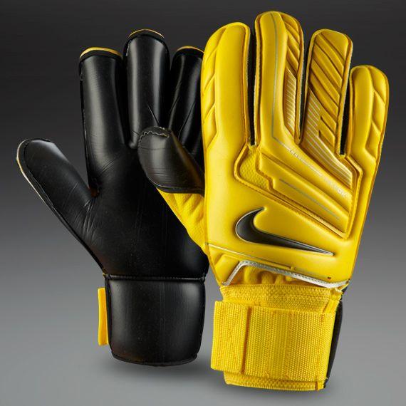 Nike Football Gloves Yellow: Nike GK Gunn Cut Gloves