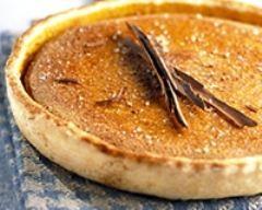 Tarte sucrée au potiron (facile, rapide) - Une recette CuisineAZ Ajouter une pomme râpée avant de mixer le tout