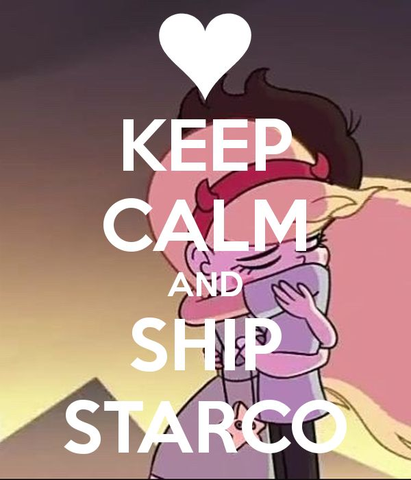 This ship set sail and will never sink because their is an awesome fandom of shippers that support it, #Starco4Life