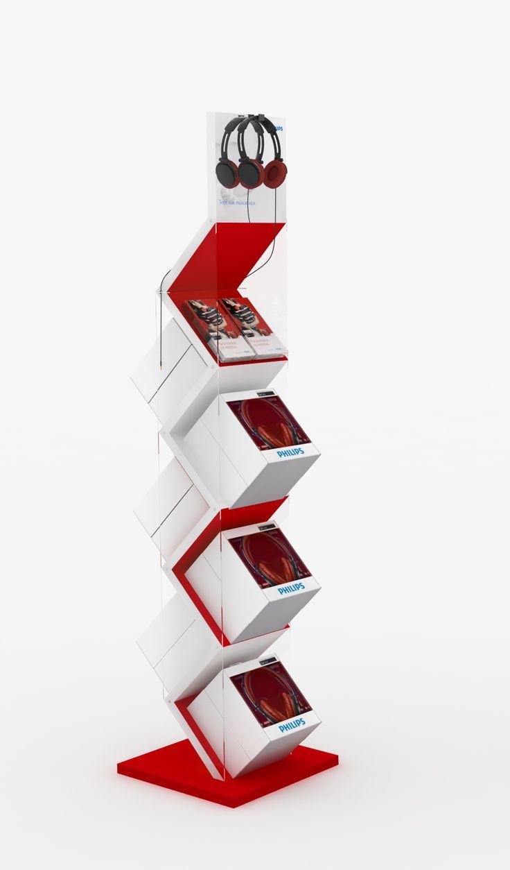 Displays Fones Philips on Behance