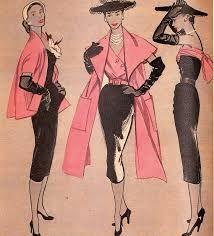 """Résultat de recherche d'images pour """"1940 mode"""""""