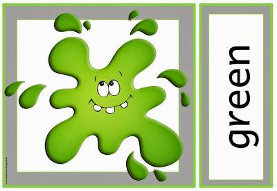 """Englisch in der Grundschule: Flashcards """"colours"""""""