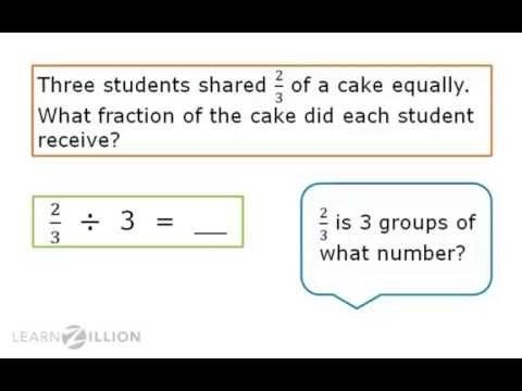 85 best 5th grade math images on pinterest teaching math 5th divide fractions by whole numbers using models ccuart Choice Image