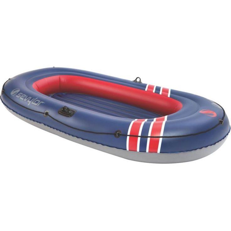 Sevylor Super Caravelle 3-Person Inflatable Boat, Blue