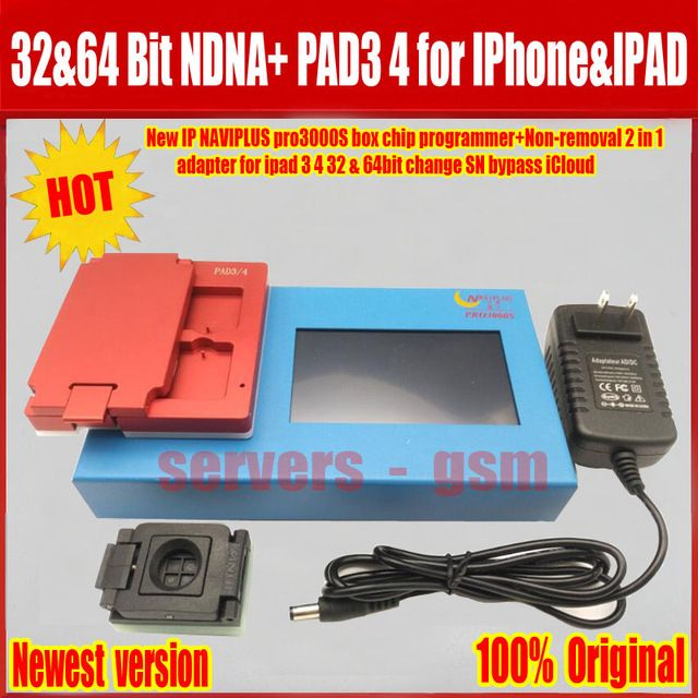 New IP BOX Pro 3000S NAND Flash Non-Removal Module Adapter For iPad