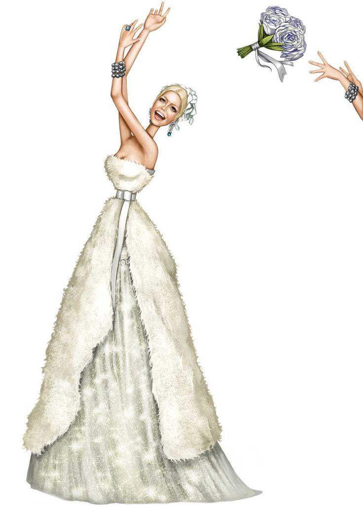 Pergamino #Fashion #Illustration #Bridal