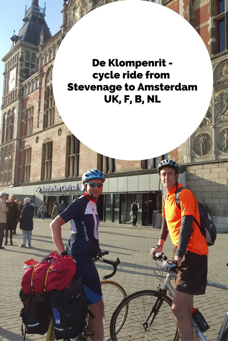 Ten months ago I decided to do a cycle ride to Amsterdam from Stevenage to see my Dutch friends and many more on route. I also invited Ollie, one of my best mates along on the trip and it kind of turned into a challenge known as 'De Klompenrit' (The Clog Ride). Since then we also decided to raise money for our two chosen charities, Diabetes UK (as my wife suffers from type one diabetes since she was a child) and Crohn's and Colitis UK (which Ollie suffers from Crohn's disease).