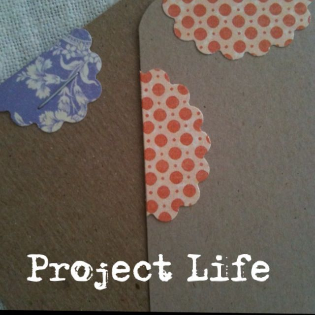 DIY Project Life Cards #smashbook