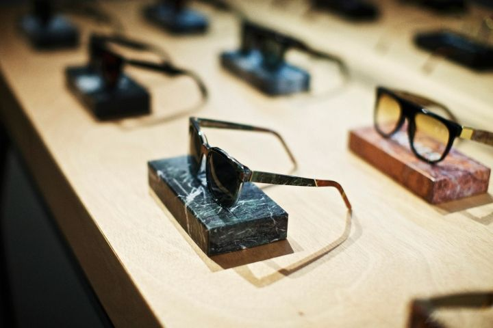 Eyeglass Frames New York City : EYEWEAR STORES! Retrosuperfuture eyewear store, New York ...