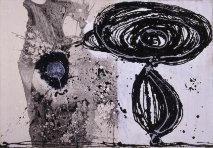 Enrico Baj Vedeteci quel che vi pare, 1951 Olio e smalto su tela incollata su masonite, 99,8 X 69,7 cm Gallerie d'Italia - Piazza Scala, Milano.