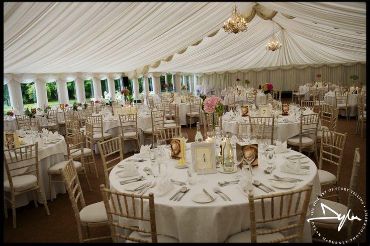 Castle Leslie Wedding Reception Tablesettings Flowers Pinterest Venues And Weddings