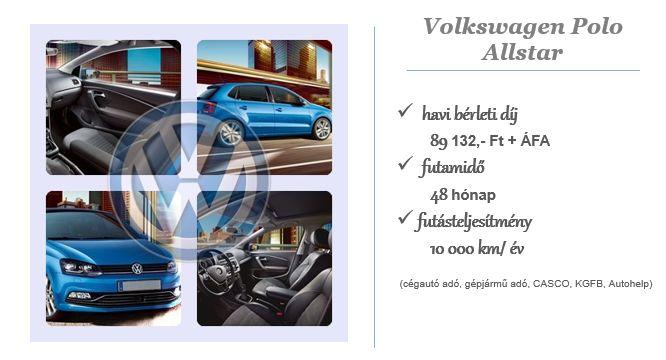 Volkswagen Polo a Cartis finanszírozásában!