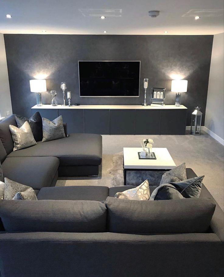 Stylish sleek living room