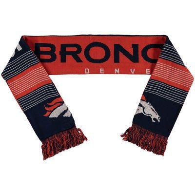 Denver Broncos Split Logo Reversible Scarf - Official Denver Broncos Shop