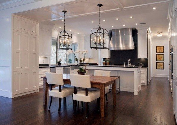classic light fixtures for kitchen