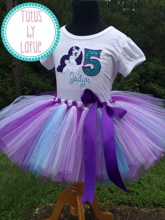 MLP/Twilight Sparkle/Rainbow Dash/Pinkie Pie/Rarity/Fluttershy/Applejack Tutu Dress/Costume/Birthday Outfit