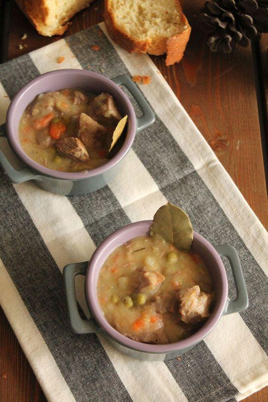 Ιρλανδική σούπα με μοσχάρι και μπύρα