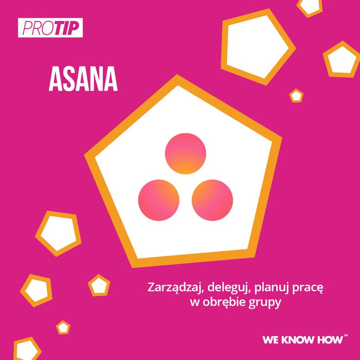 Dzięki aplikacji Asana możecie sprawnie i efektywnie zarządzać pracą w obrębie grupy!