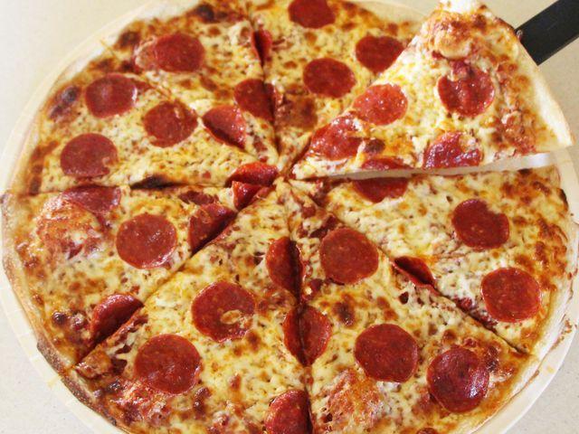 Το αποτέλεσμά μου:Πίτσα πεπερόνι!
