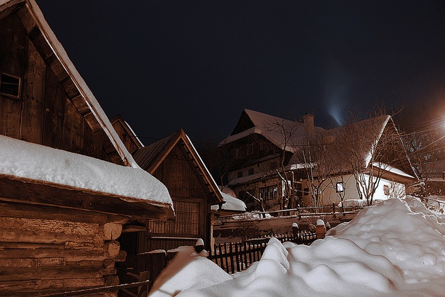 Špania Dolina, winter fairyland