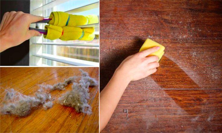 21 astuces géniales pour mettre à terre la poussière