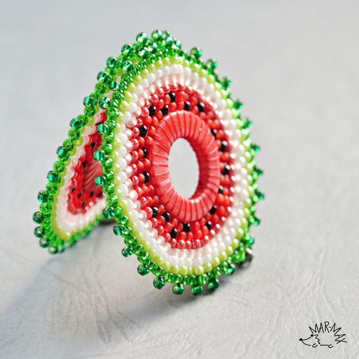 Melounovky Visací náušnice