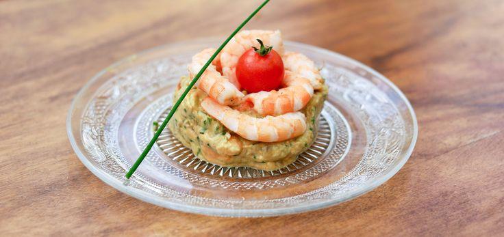 Tartare d'Avocat aux Crevettes