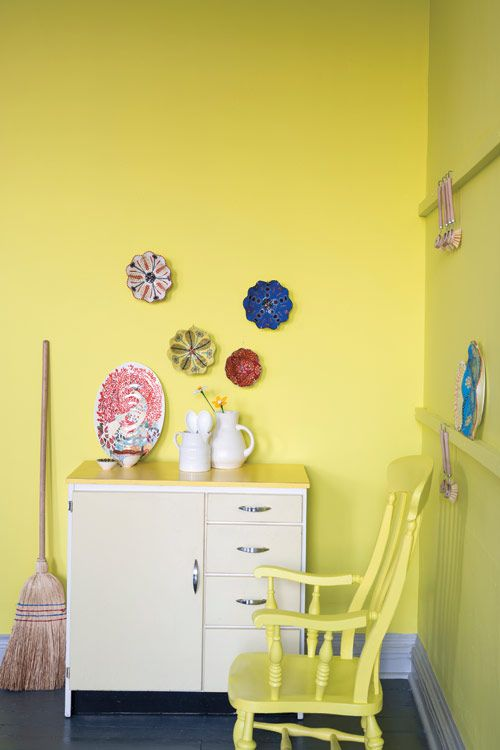 Straight from London: Farrow & Ball Yellowcake