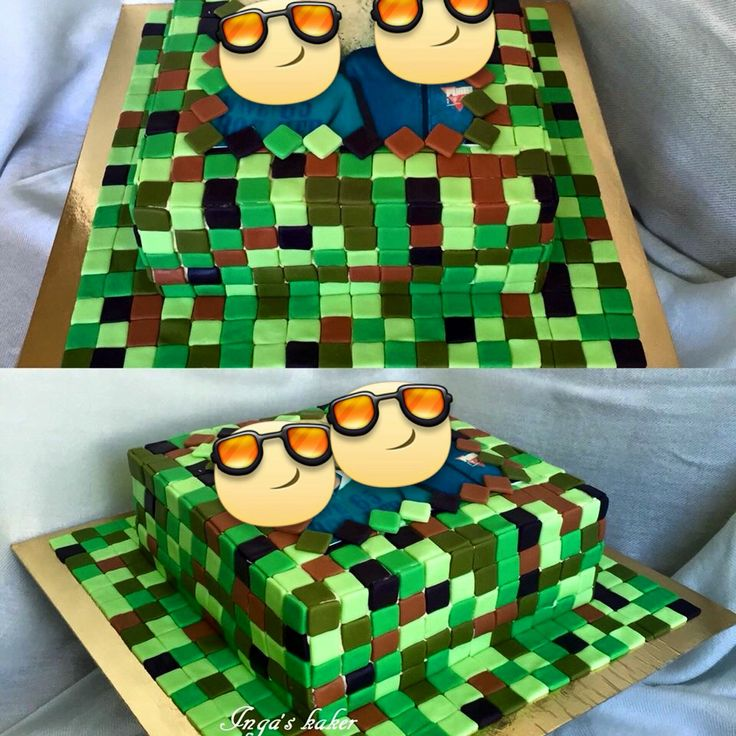 Minecraft kake