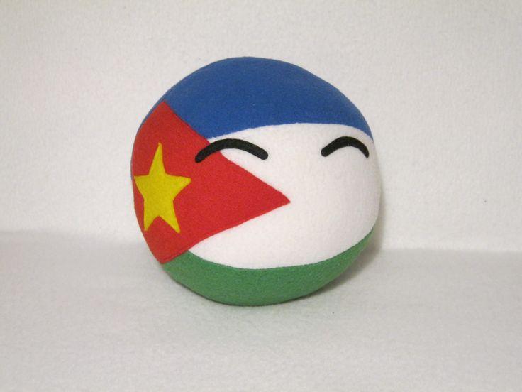 San Escobar Ball  Made by Plush Workshop