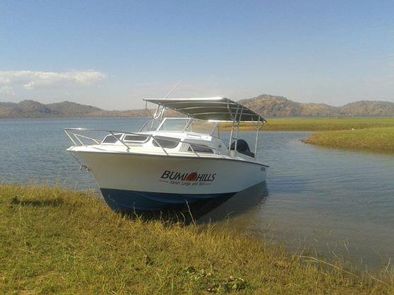 Ready for a little boat adventure? - Bumi Hills, #Zimbabwe  http://theexplorerclubafrica.com/properties/bumi-hills-safari-lodge-spa.php