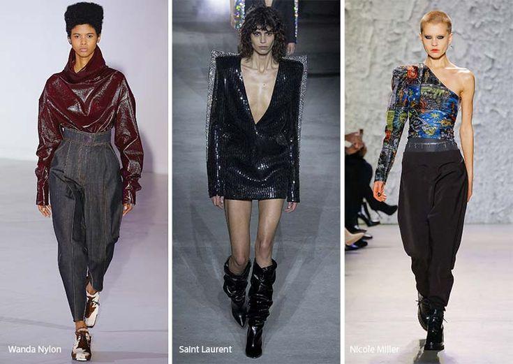 Fall/ Winter 2017-2018 Fashion Trends: 1980s Fashion