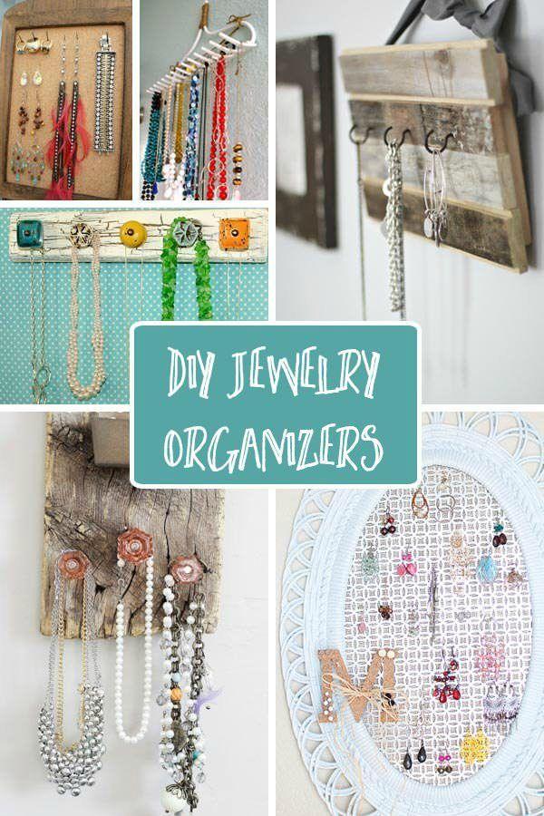 DIY Jewelry Organizers 143 best House Organization is